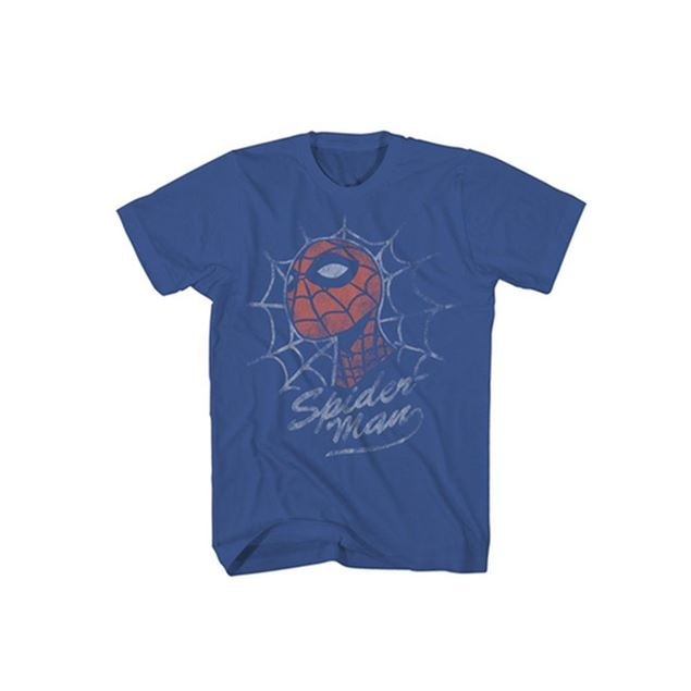 Picture of T-SHIRT L SPIDERMAN - LOOKING