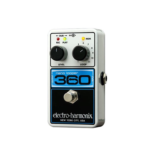 Picture of PEDAL LOOP ELECTRO-HARMONIX - NANO LOOPER 360