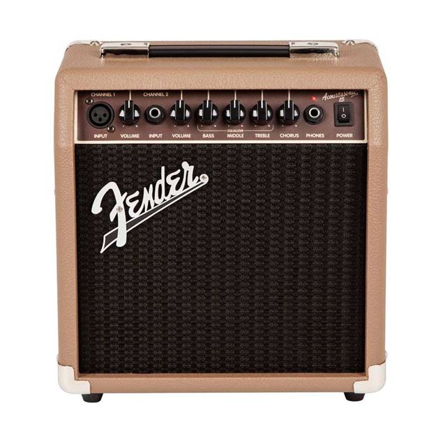Picture of COMBO GUITARRA ACUSTICA FENDER - ACOUSTASONIC 15