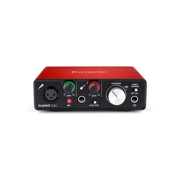 Picture of INTERFACE USB FOCUSRITE - SCARLETT SOLO 2GEN