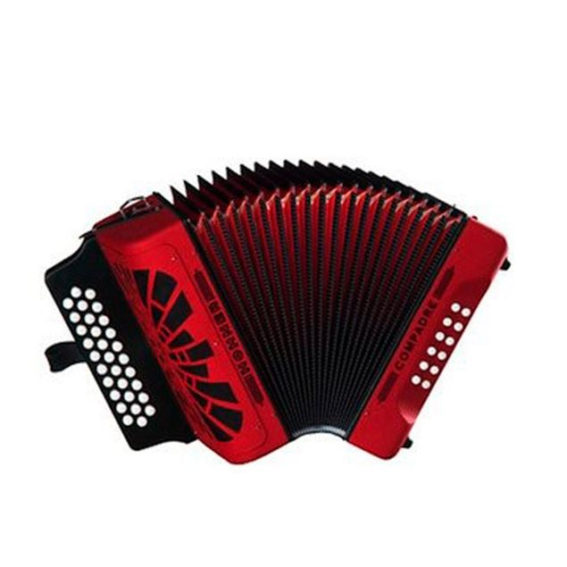 Picture of CONCERTINA HOHNER - COMPADRE RED