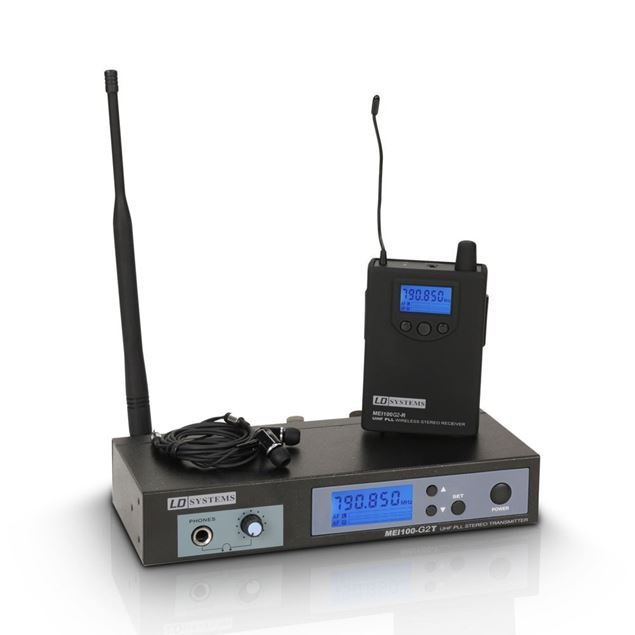 Picture of IN EAR WIRELESS LD SYSTEM - MEI100G2