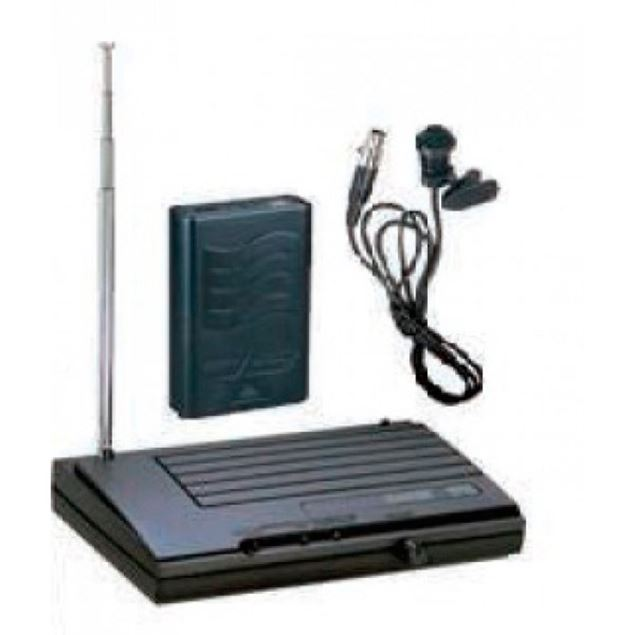 Picture of MICROFONE LAPELA WIRELESS LEEM - VHF18L