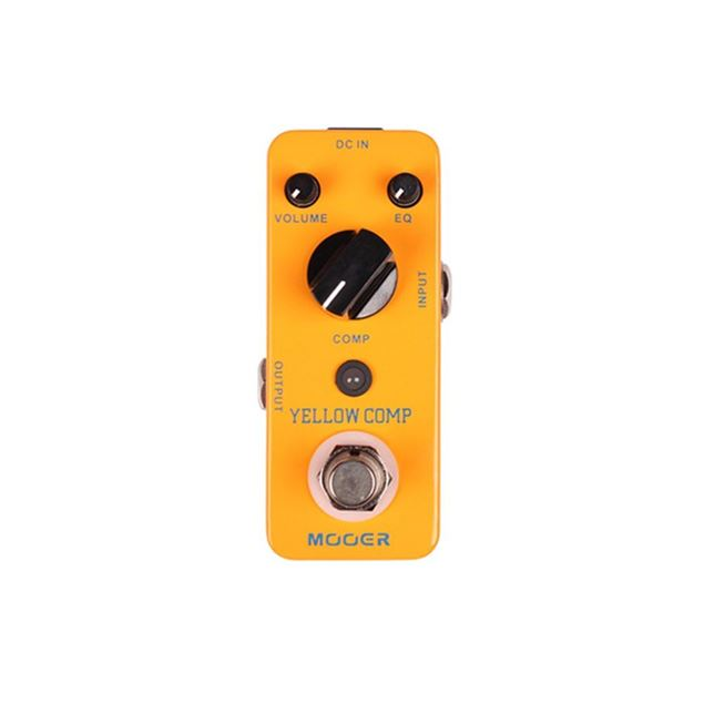 Picture of PEDAL COMPRESSOR MOOER - YELLOW COMP