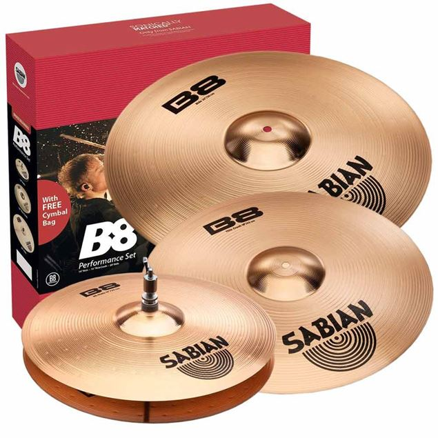 Picture of SET PRATOS BATERIA SABIAN - B8 PERF. SET