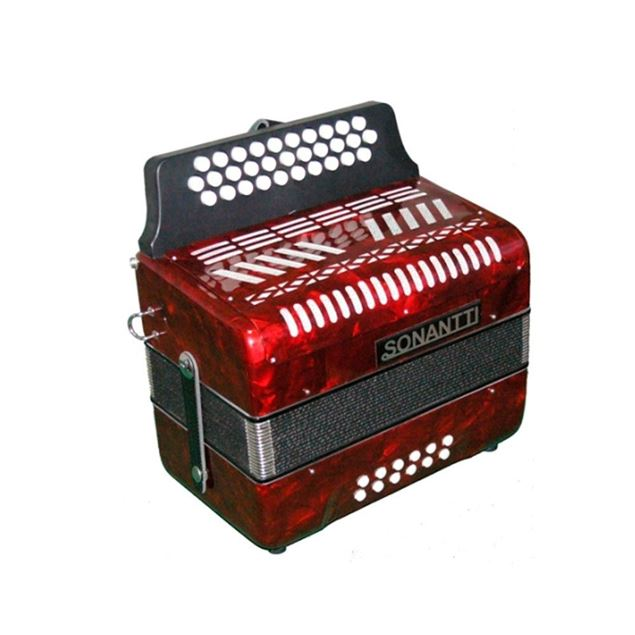 Picture of CONCERTINA 12BX SONANTTI - 3012 RED