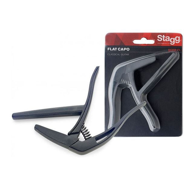 Picture of TRANSPOSITOR CLÁSSICA STAGG - SCPX-FL BK