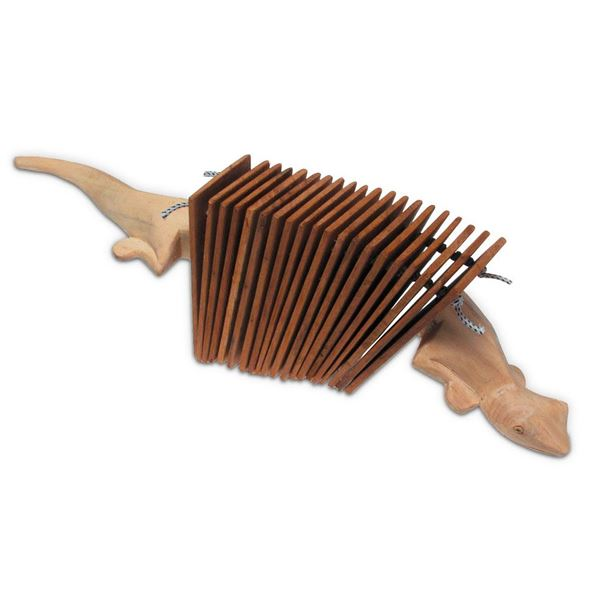 Picture of GECKO WOODEN CLACKER TOCA - T-GC