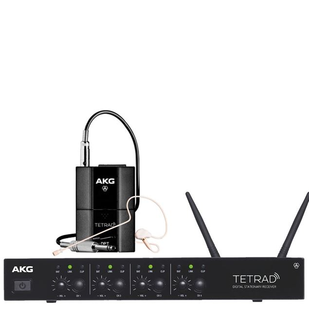 Picture of SISTEMA WIRELESS AKG - DMS TETRAD PERFORMER SET