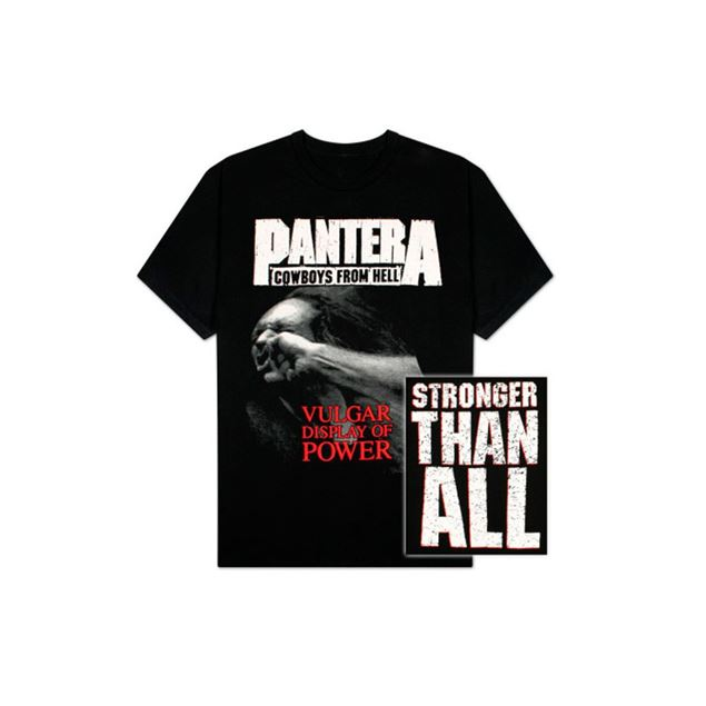 Picture of T-SHIRT L PANTERA - VULGAR DISPLAY OF POWER