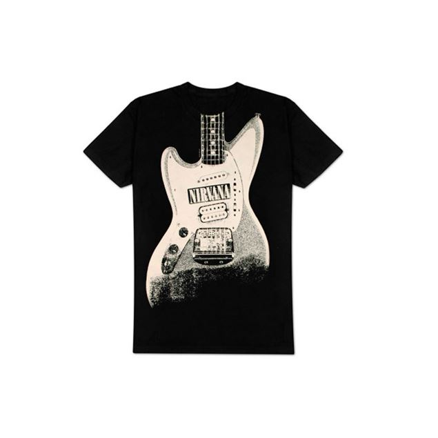 Picture of T-SHIRT L NIRVANA - EST 1988 GUITAR STAND