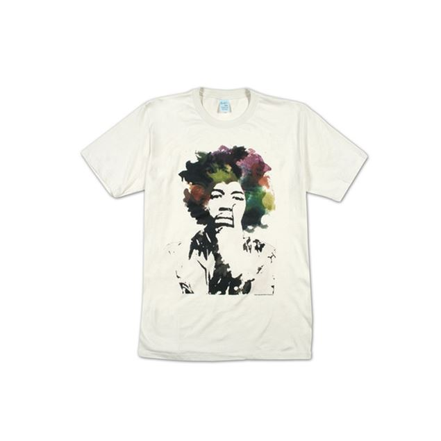 Picture of T-SHIRT M JIMI HENDRIX - WATERCOLOR
