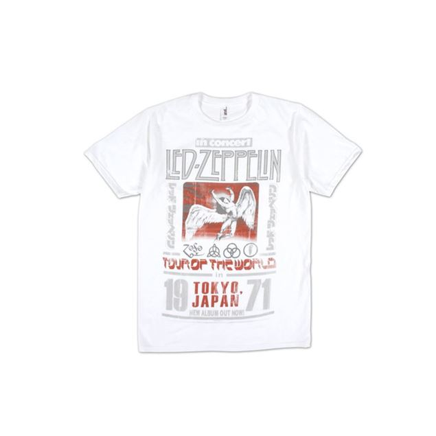 Picture of T-SHIRT L LED ZEPPELIN - TOKYO 71