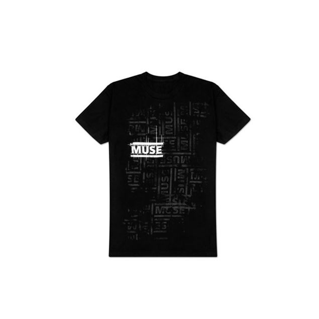 Picture of T-SHIRT L MUSE - LOGO REPEAT