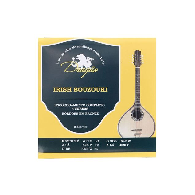Picture of CONJ. CORDAS BOUZOUKI DRAGAO