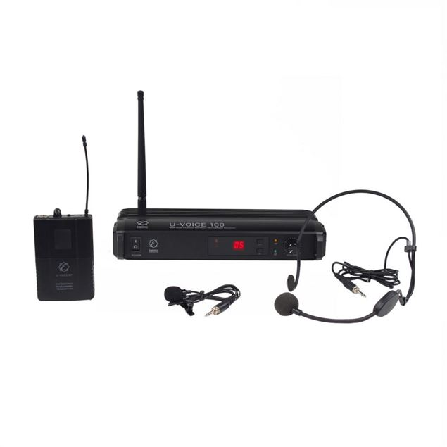 Picture of HEADSET WIRELESS EAGLETONE - U-VOICE 100HL