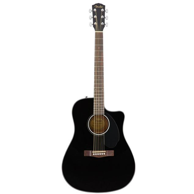 Picture of FENDER  CD60SCE BLK