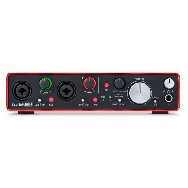Picture of INTERFACE USB FOCUSRITE - SCARLETT 2I4 2GEN