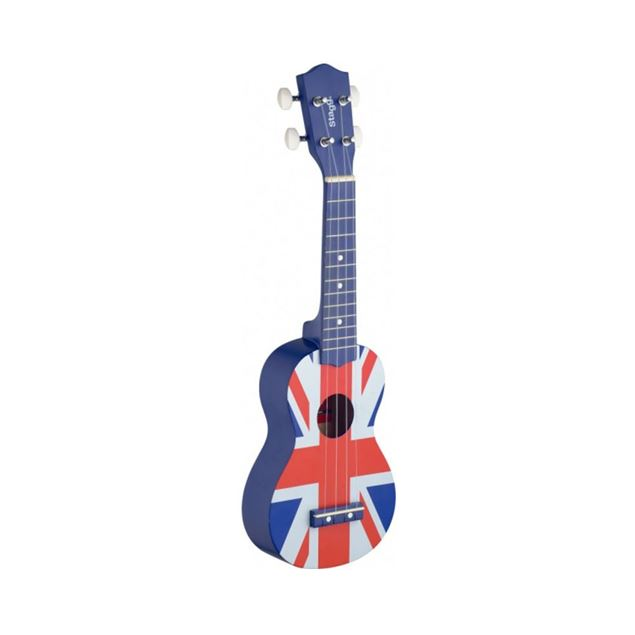 Picture of UKULELE SOPRANO STAGG - US UK- FLAG