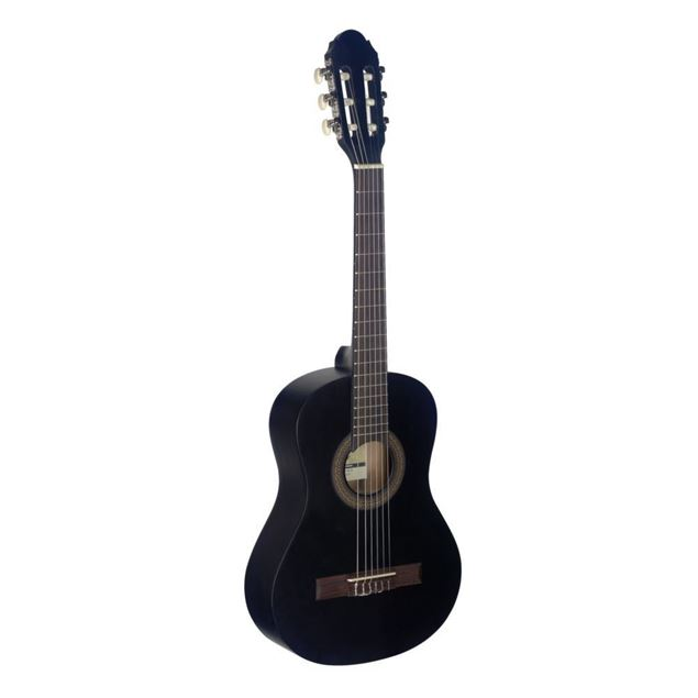Picture of GUITARRA CLASSICA 1/2 STAGG - C410 M BLK