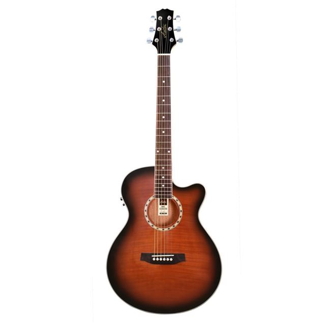 Picture of GUITARRA ACUSTICA ELECTRIFICADA ASHTON - SL29CEQTSB CW