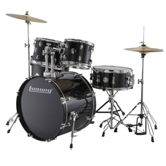 Picture of BATERIA ACUSTICA LUDWIG - ACCENT DRIVE BK