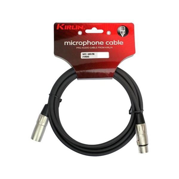 Picture of CABO MICROFONE 10M KIRLIN - MPC-480-10M/BK