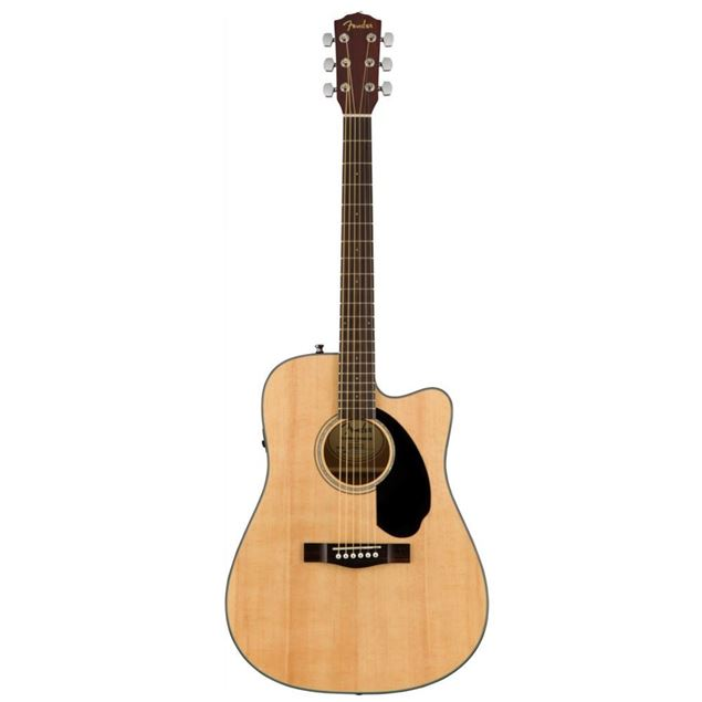 Picture of GUITARRA ACUSTICA ELECTRIFICADA FENDER - CD-60SCE NAT