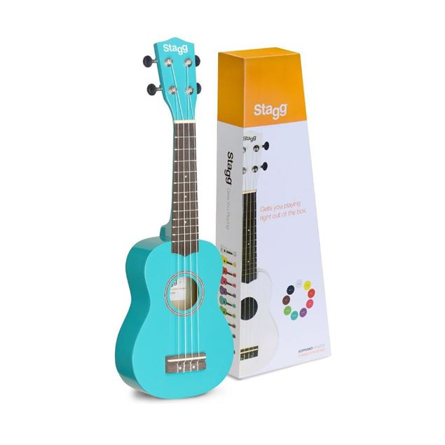 Picture of UKULELE SOPRANO STAGG - US-OCEAN
