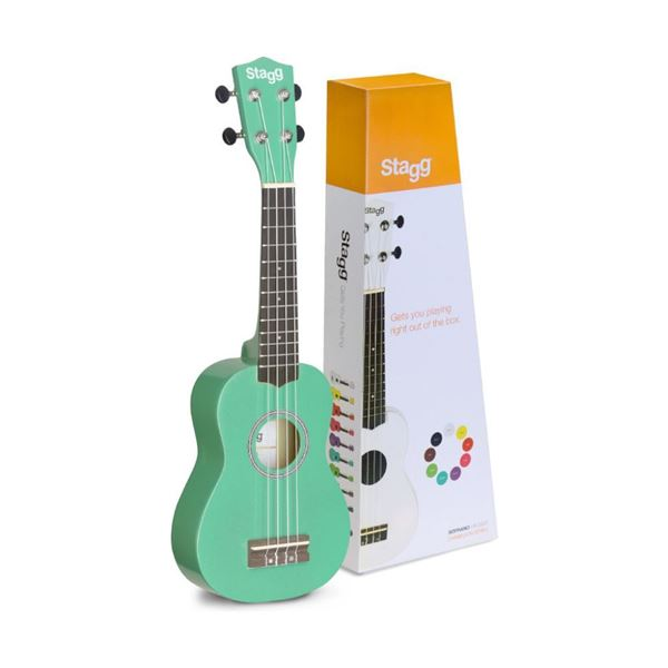 Picture of UKULELE SOPRANO STAGG - US-GRASS