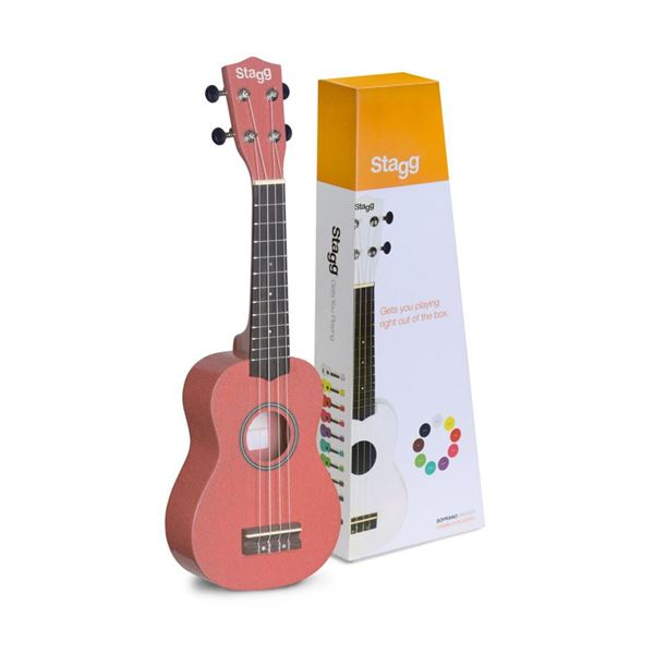 Picture of UKULELE SOPRANO STAGG - US-LIPS