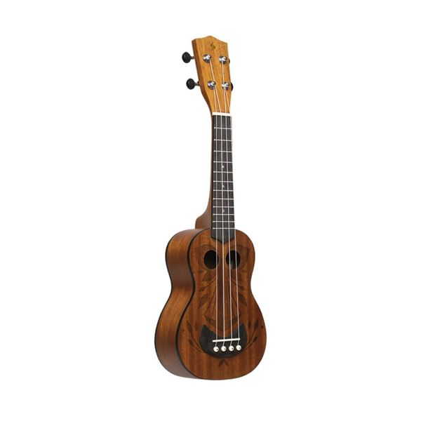 Picture of UKULELE SOPRANO STAGG - US-TIKI OH