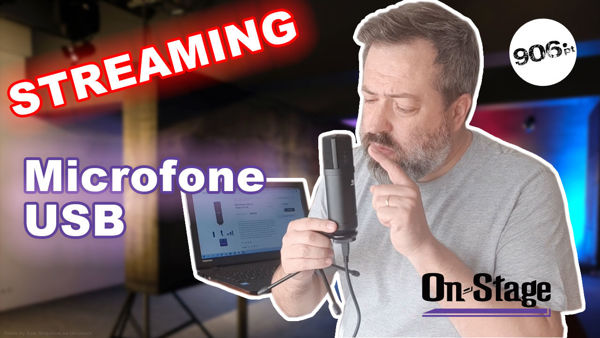Microfone Streaming USB OnStage AS700 [Review]